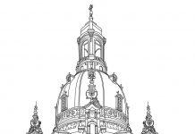 Cathedral of cologne coloring pages
