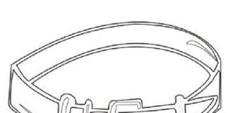 Belt Colouring Pages