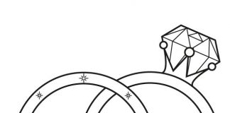Gold Ring Colouring Pages