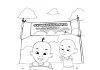 Upin & Ipin Colouring Pages