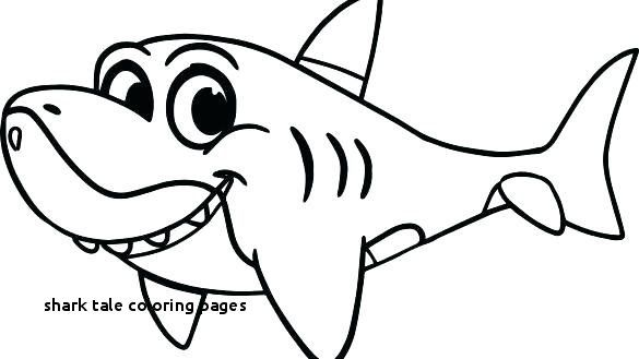 elegant coloring pages shark easy 2