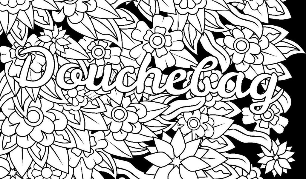 Stunning Simple Adult Coloring Pages Picolour